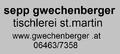 Tischlerei Gwechenberger Sepp (Bande)